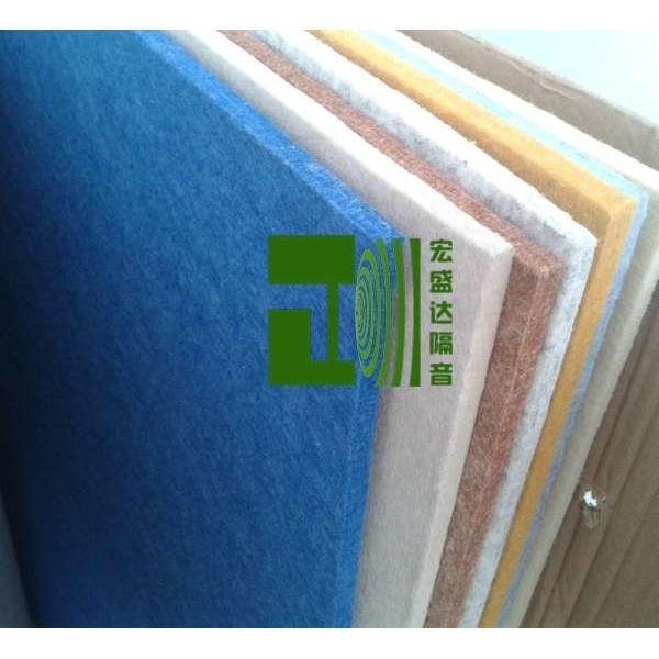 山东聚酯吸音板批发 室内吸音材料 墙面装饰隔音板