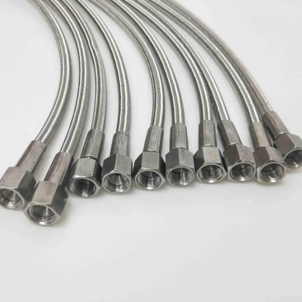 铁氟龙套管不锈钢编织管厂家直销
