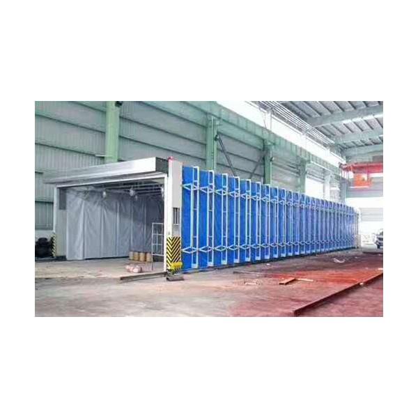 伸缩移动喷漆房10米20米30米详细配置
