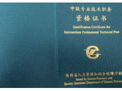 2020年陕西省水利水电专业职称评审文件