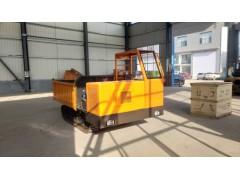 厂家直销电启动小型履带运输车1T液压起降履带自卸农用拖拉机