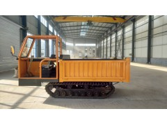 现货出售小型履带运输车 全地形手推矿用自卸式运输车