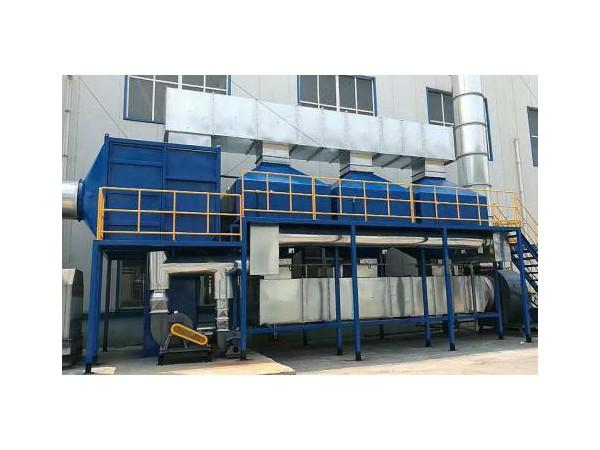 钢铁厂废气处理设备催化燃烧技术参数说明