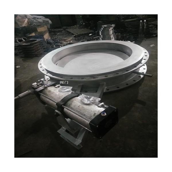 DS9113水冷式超高温蝶阀 不锈钢焊接