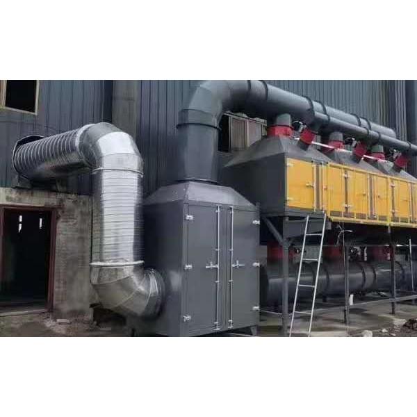喷漆房催化燃烧设备废气处理效果