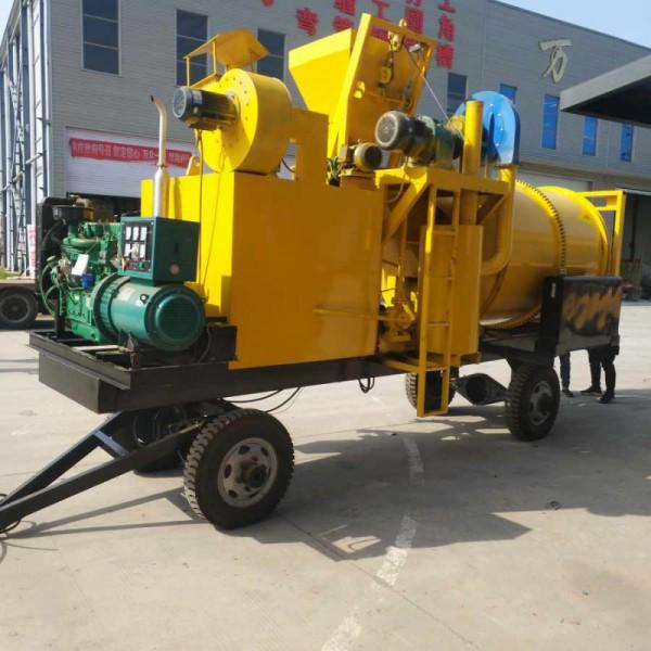 沥青混凝土搅拌设备 卧式公路沥青拌合机 修补废料沥青搅拌机厂家