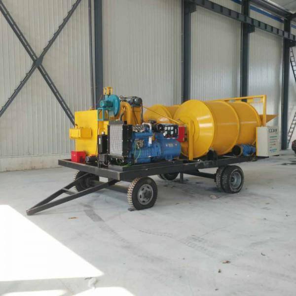 车载式沥青拌合机 可加发电机组拌合机 公路修补移动机械
