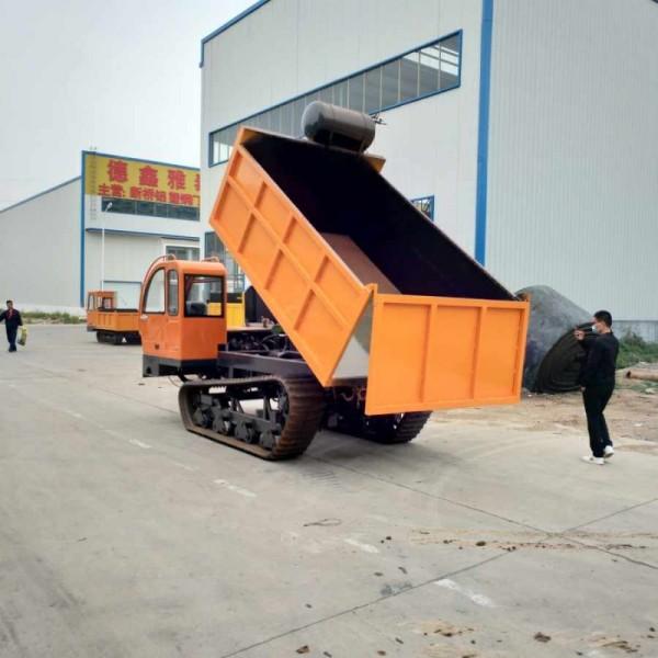 自走式履带式运输车 履带翻斗自卸车 履带式运输车