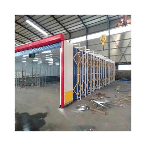 镀锌管材质伸缩喷漆房 运行平稳 操作