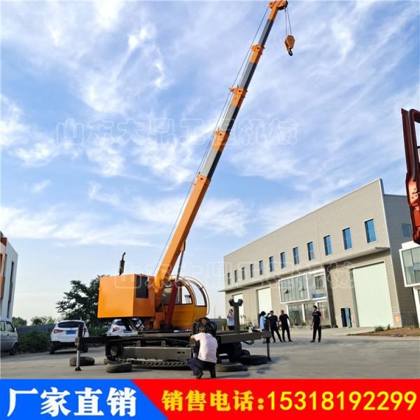 多功能钢制履带式起重机 建筑工程钢制履带吊车