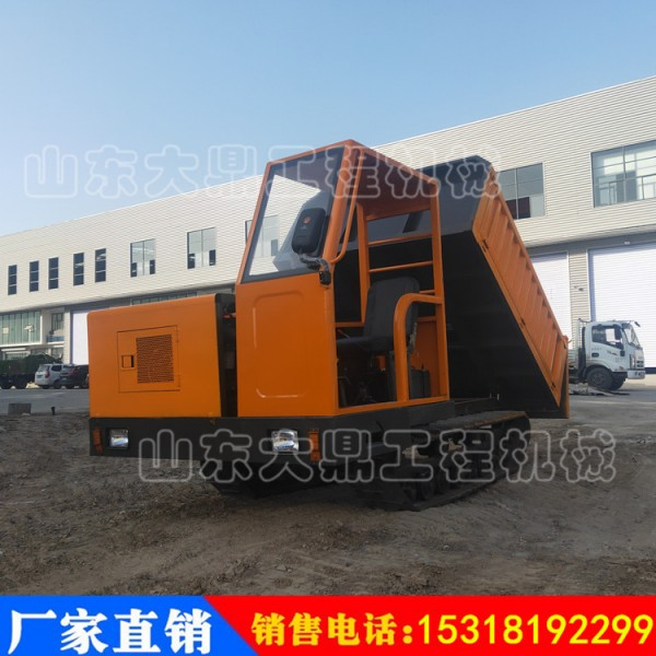 工程履带运输车4-5吨履带运输车  小型履带运输车