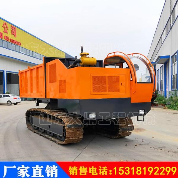 钢制履带运输车 15吨液压履带运输车 95千瓦自卸履带运输车