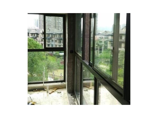 莜歌门窗小区断桥铝合金门窗 中空隔音铝合金窗户 铝合金平开窗 铝合金门窗厂家