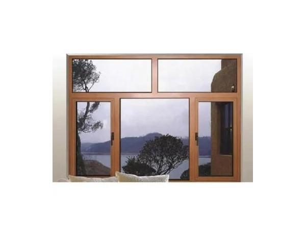 莜歌出售 断桥铝合金门窗 小区铝合金平开窗厂家 仿古铝合金平开窗 铝合金门窗工程