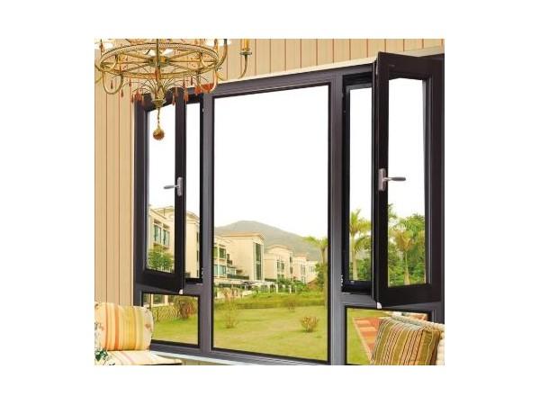 135型铝合金门窗 断桥铝合金平开窗厂家 窗纱一体铝合金平开窗 断桥铝门窗 莜歌门窗定制